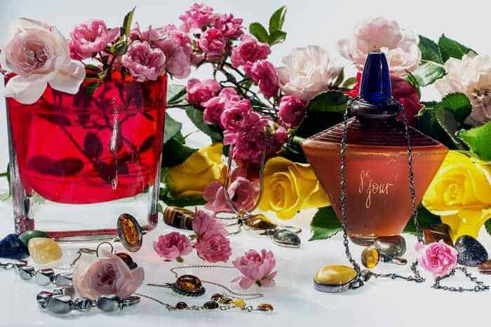 flowers and jewellery ideas