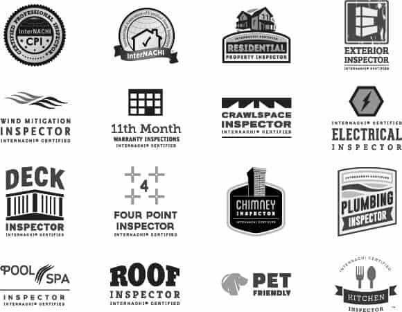 home inspection logos