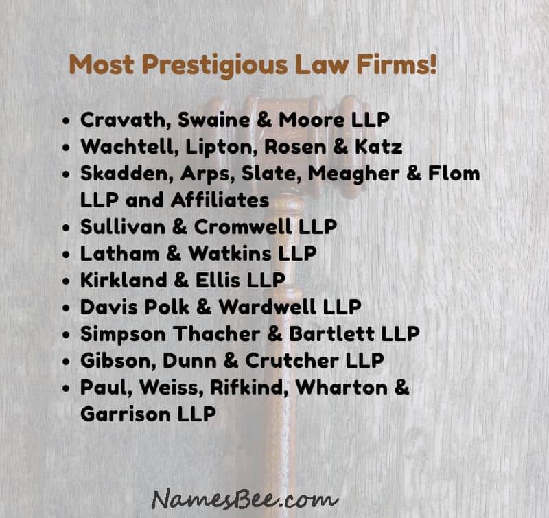 legal firms names