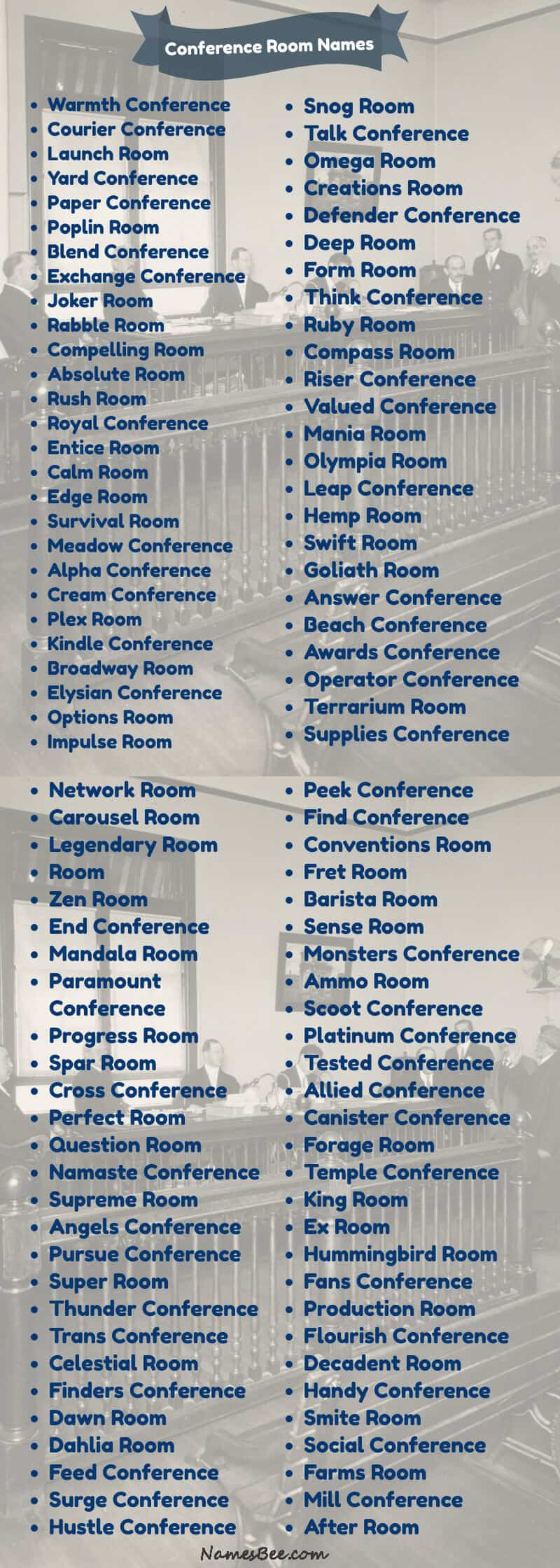 conference room names ideas