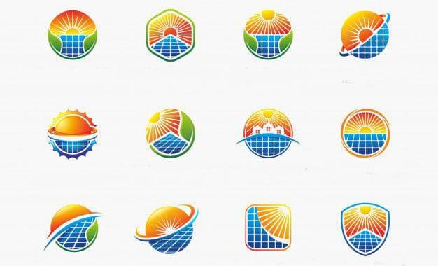 solar company logo ideas