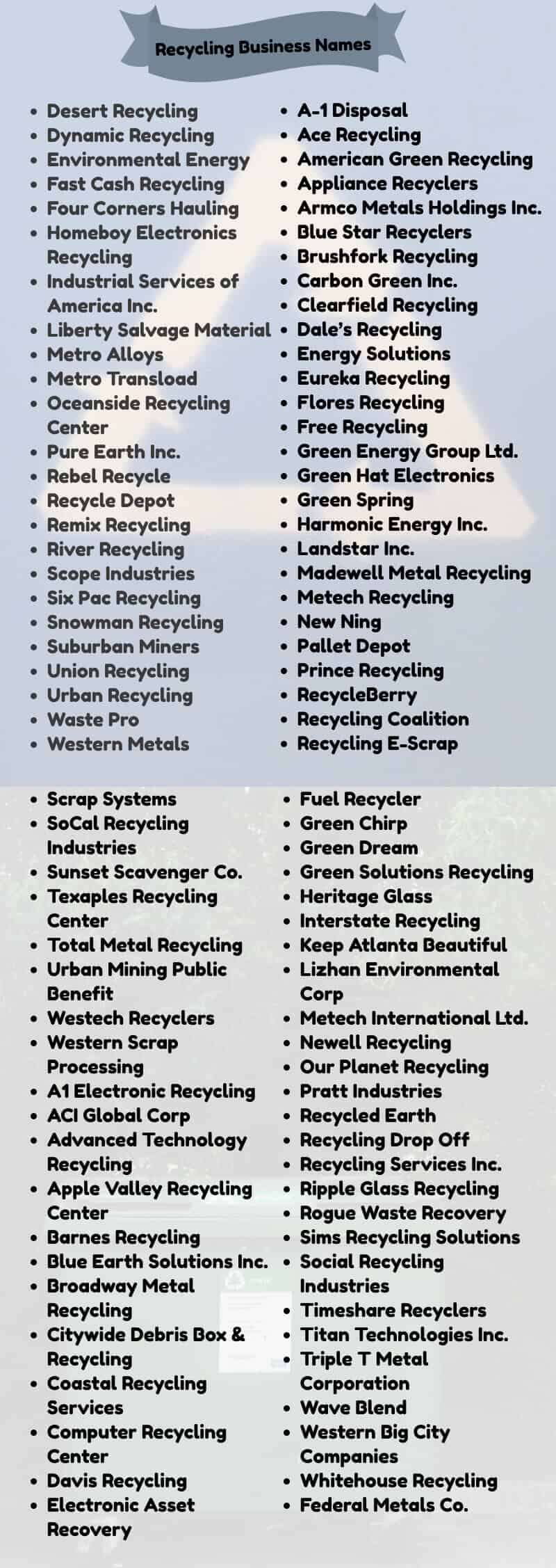 recycling-names