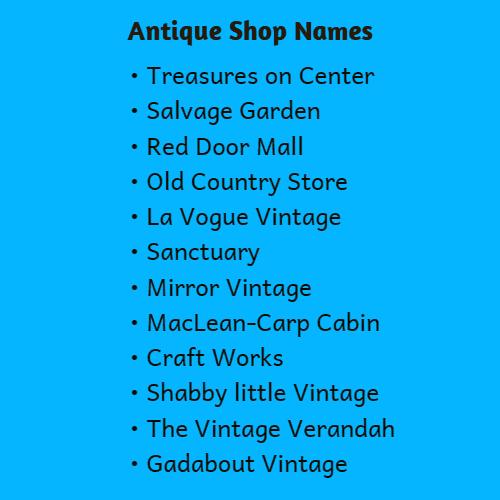 antique names