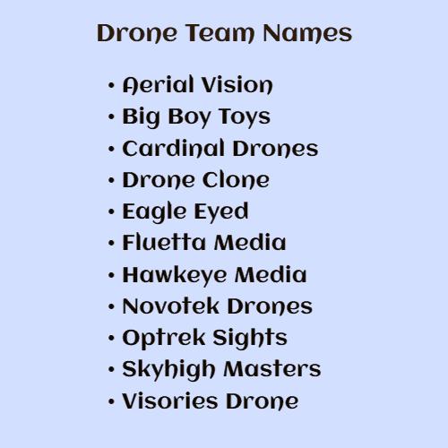 unique drone business names