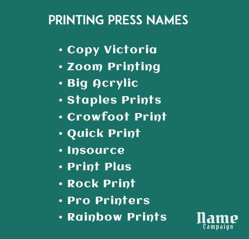 print shop ideas