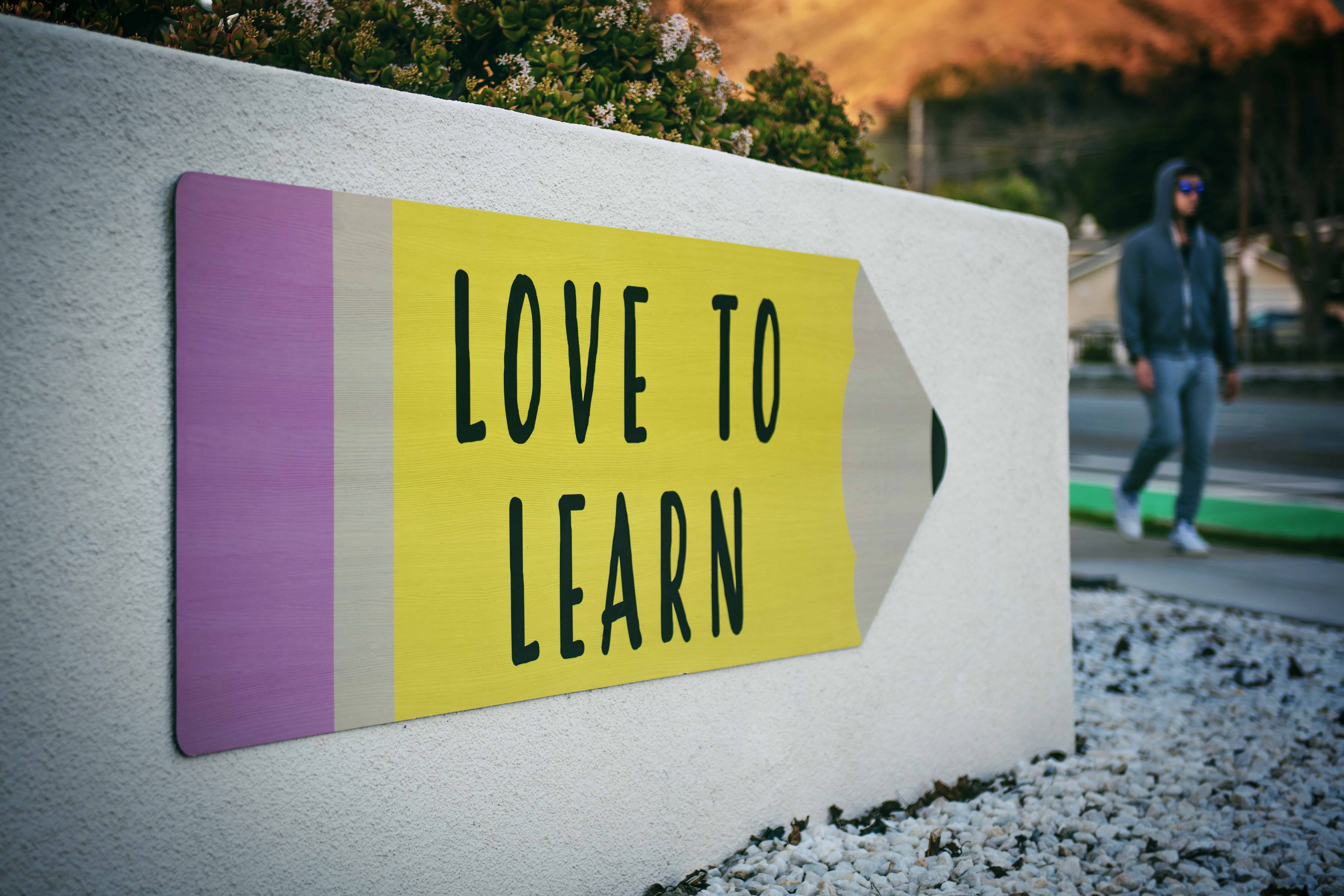 education slogans love to learn