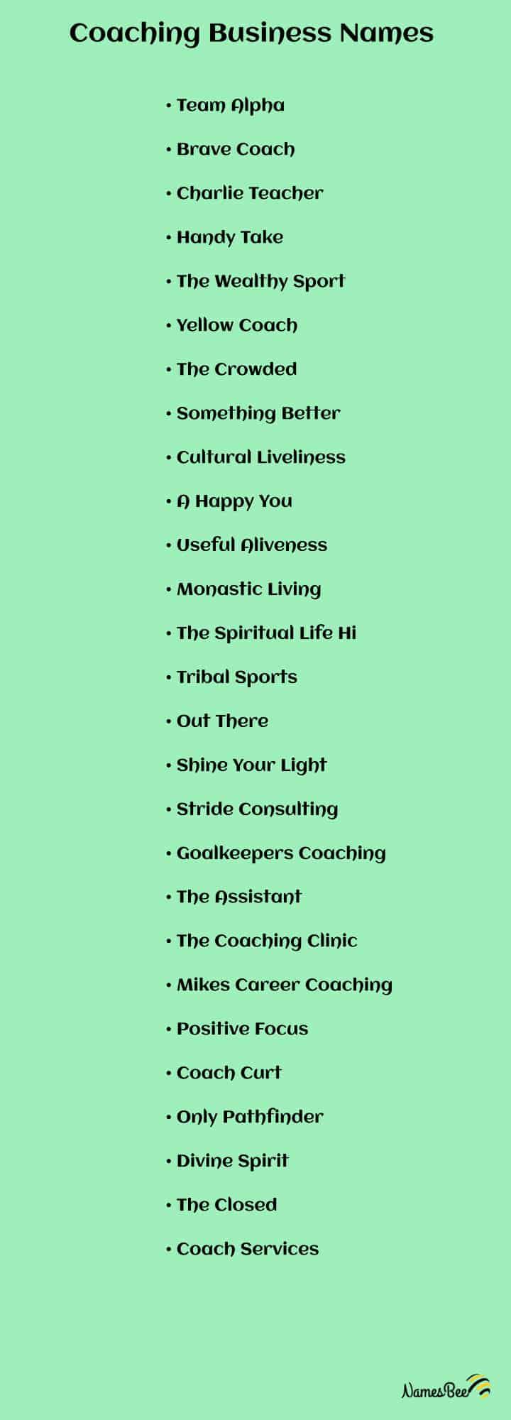 life coach names